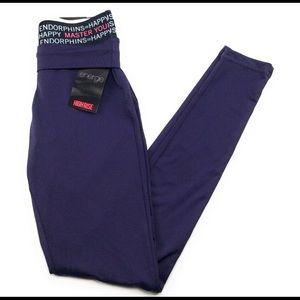 Energie Activewear High Rise Leggings Purple